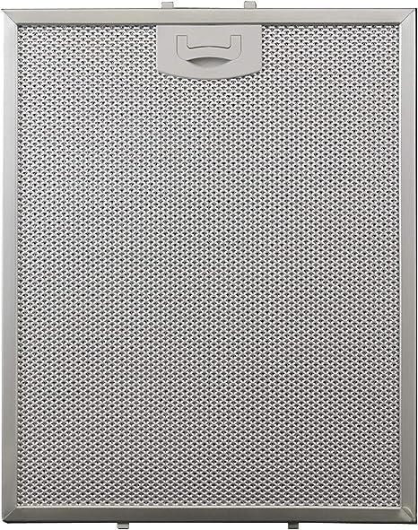 TECNOWIND - Filtro de aluminio para campana extractora (257 x 318 x 8 mm): Amazon.es: Grandes electrodomésticos