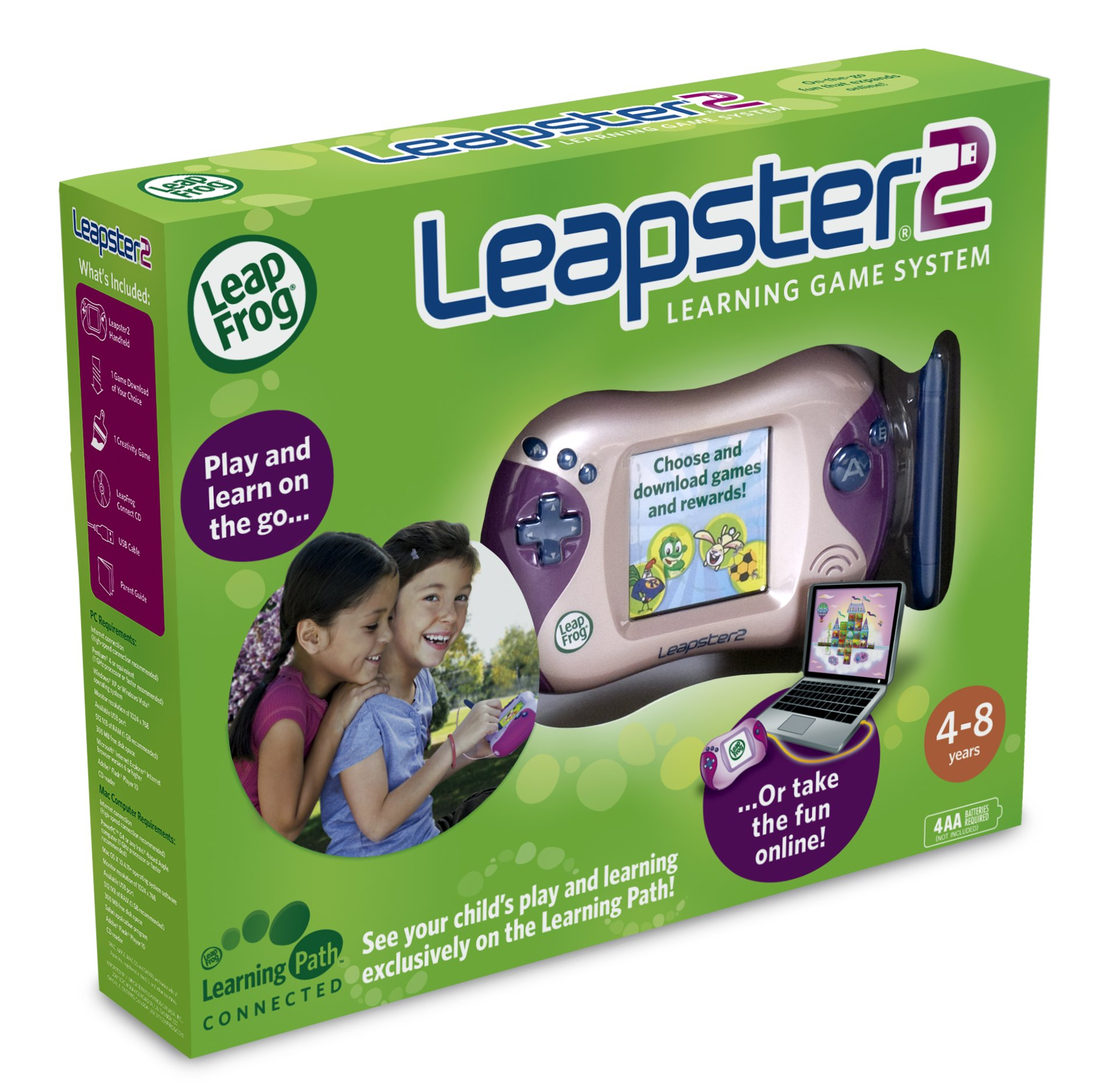LeapFrog Leapster 2 Learning Game System - Pink by LeapFrog (Image #5)