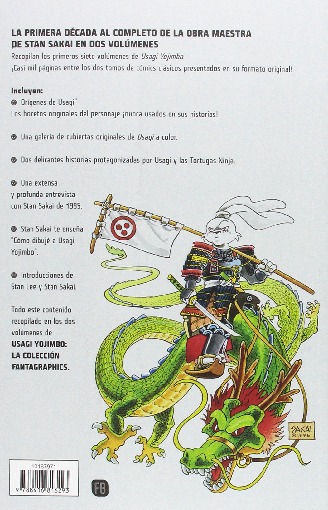 Usagi Yojimbo Fantagraphics nº 02/02 Integral Independientes ...