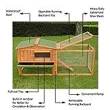 "PawHut 62"" Outdoor Guinea Pig Pet House/Rabbit"
