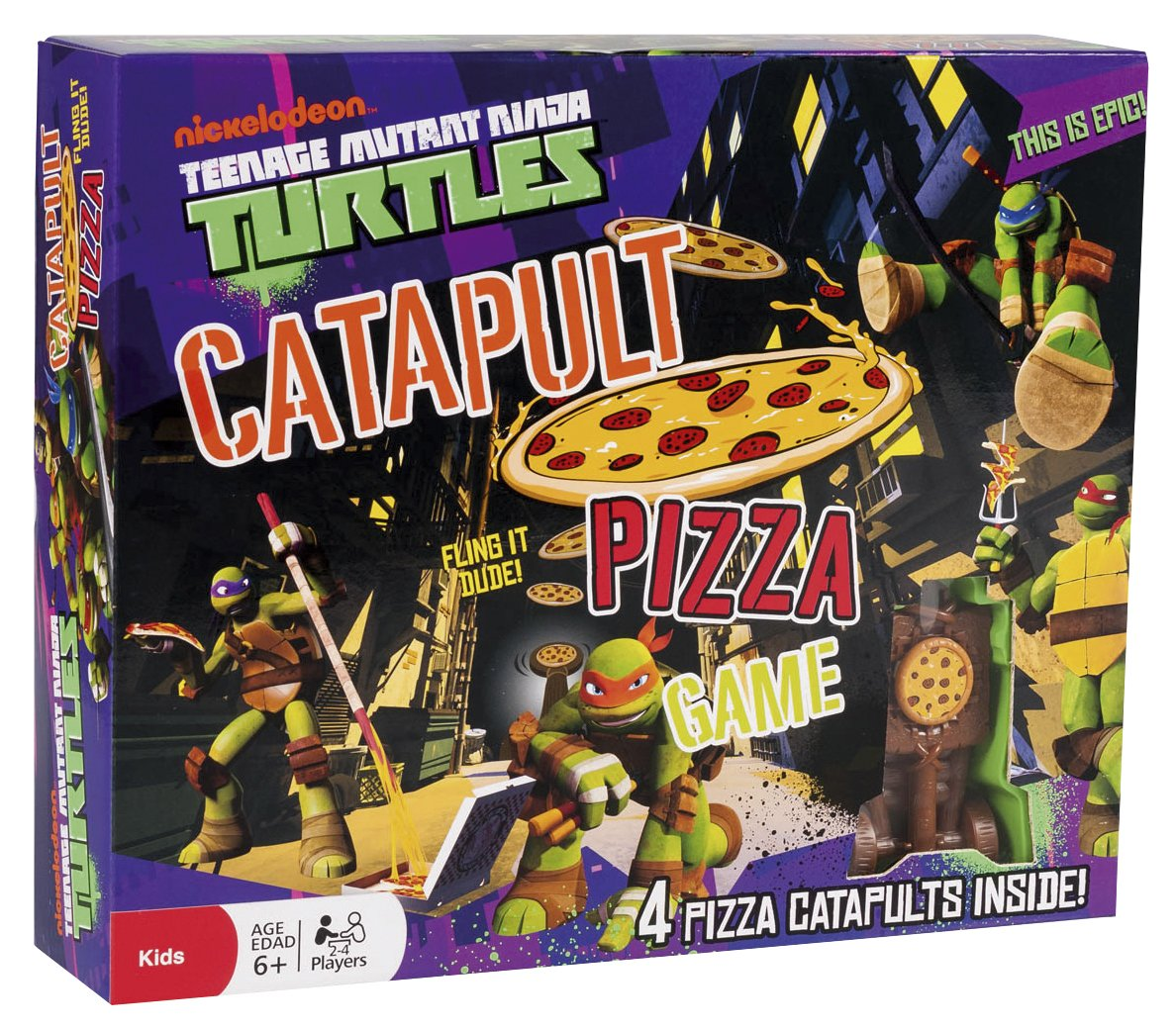 Cefa Toys - Tortugas Ninja, Juego catapulta (25252): Amazon ...