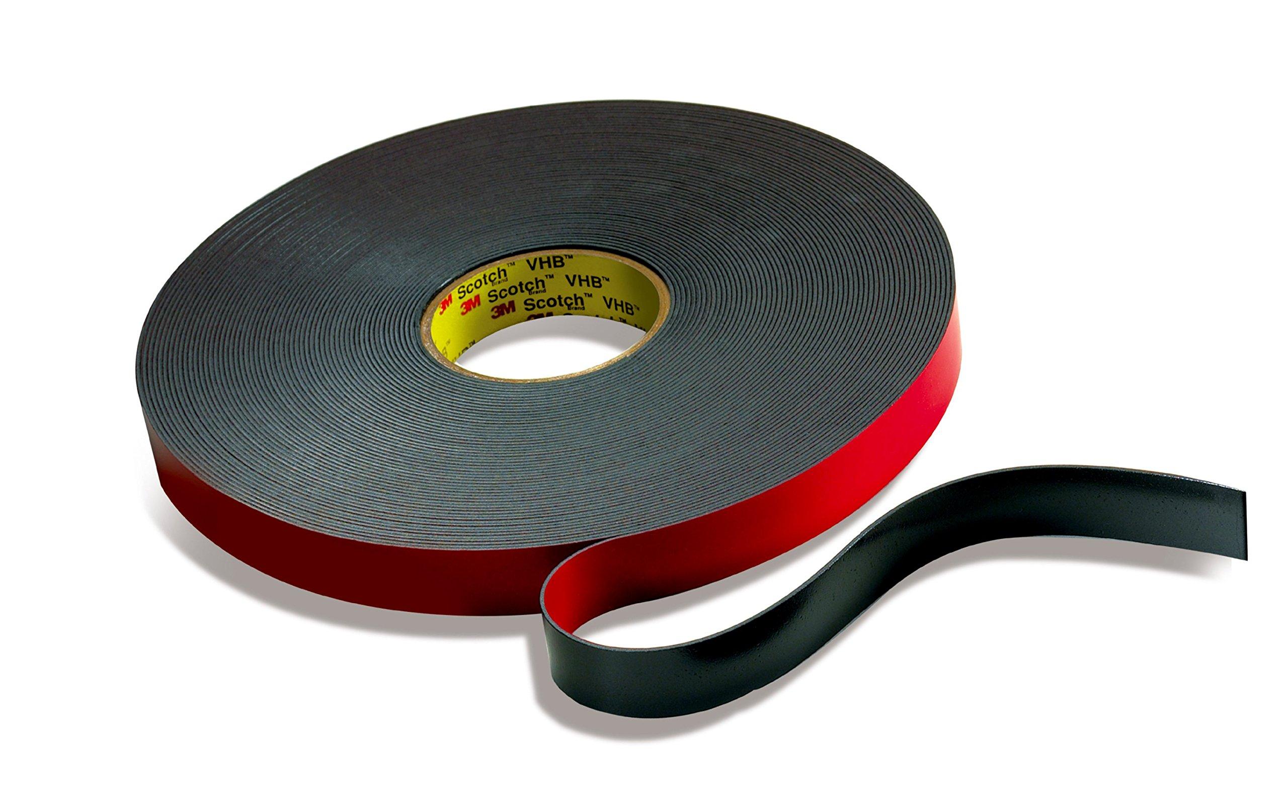3M VHB 68024-case Tape Levelwound, 45 mil, 3/8 in x