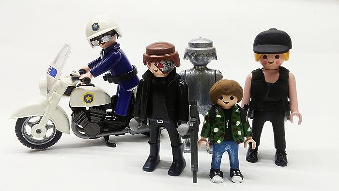 Pedido Personalizado Customizados Terminator 800 T 2 Playmobil Click WxerdoBC