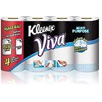 Kleenex Viva Kitchen Towel, 4 Rolls - 90 Sheets x 2 Ply
