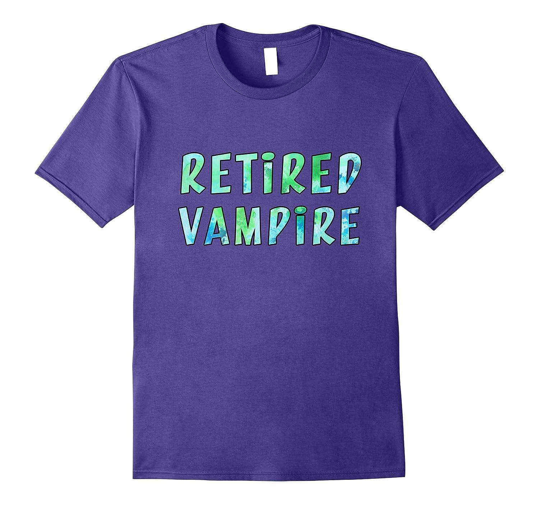 Retired Vampire shirt-Vaci