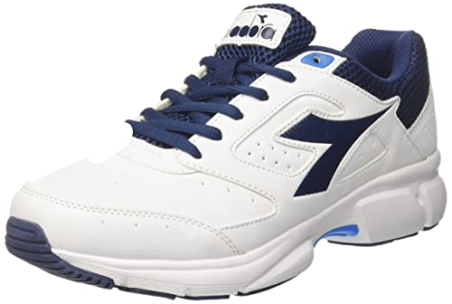Diadora Shape 9 Scarpe da Running Uomo Bianco Bianco Ottico Blu C2122