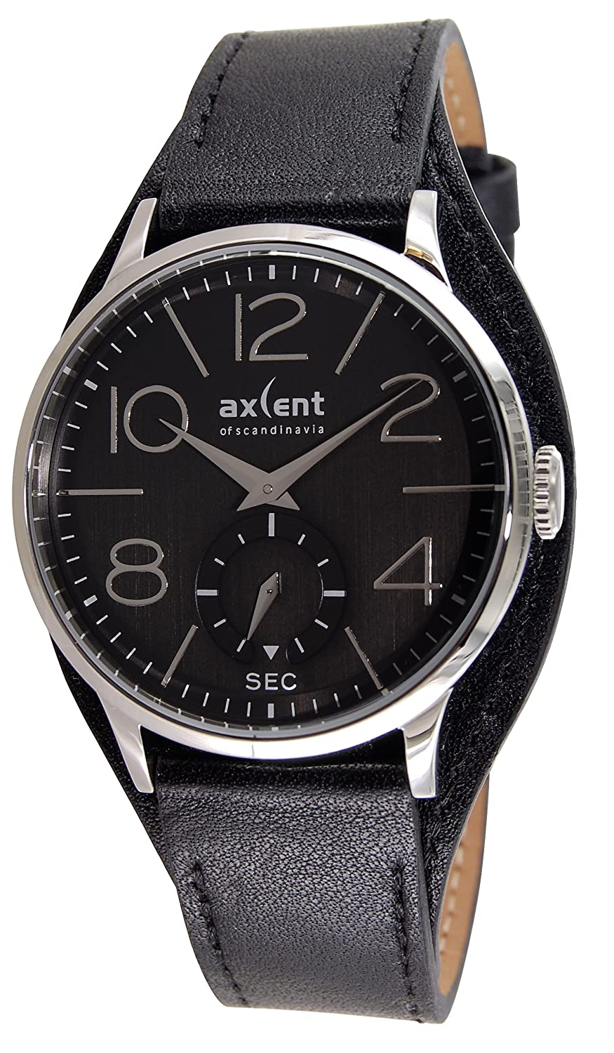 Axcent Unisex-Armbanduhr Episode Analog Quarz Leder IX22801-267