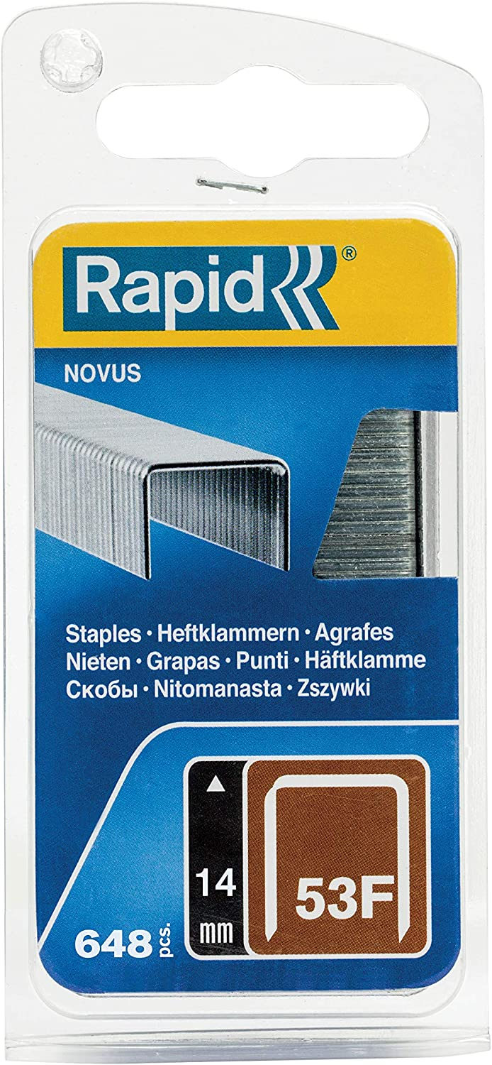 Rapid 40109554 40109554-Clavo 16//14mm Plateado G 0.99M New Bl/íster