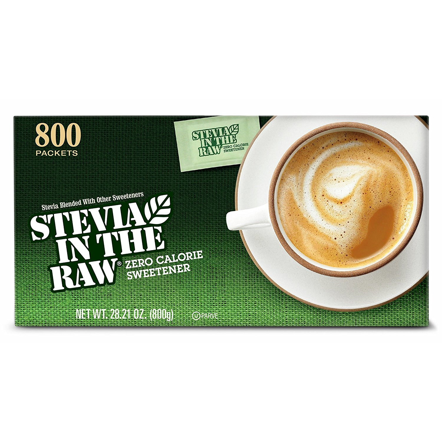 Stevia In The Raw Zero-Calorie Sweetener, 800 ct. (pack of 6)