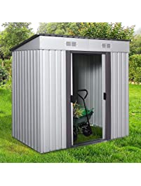 4u0027 X 6u0027 Metal Garden Storage Shed ...