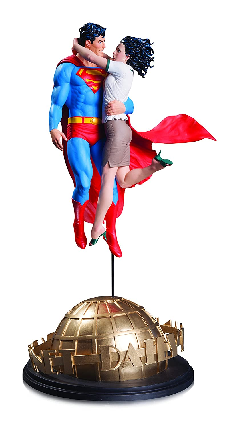 DC Comics aug160368 Designer Series Superman und Lois Lane von Gary Frank Statue