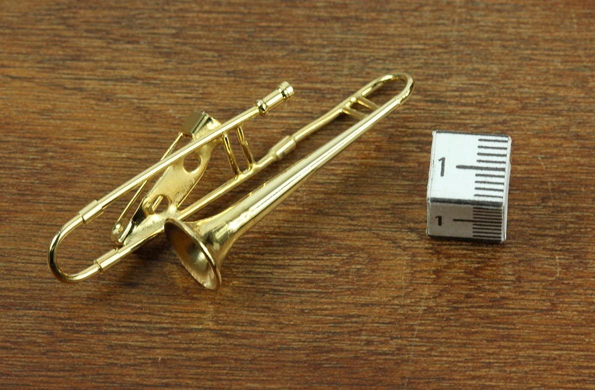 Miniblings Trombón trombón Broche Broche trombón Clavija de ...