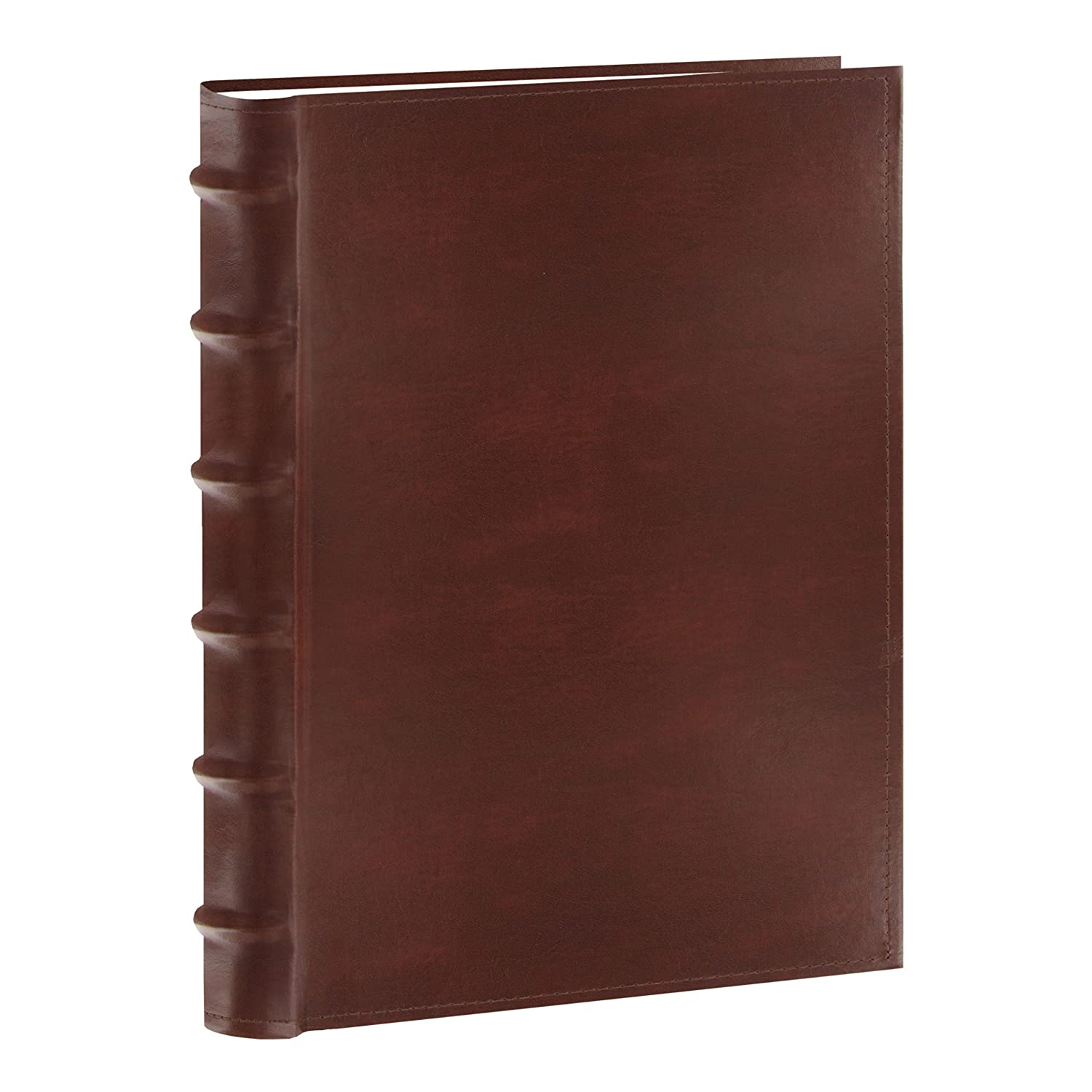 Pioneer Photo Albums CLB-346/BN Sewn Bonded Leather Bi-Directional 300 Photos Pocket Album (Brown) 2 PACK