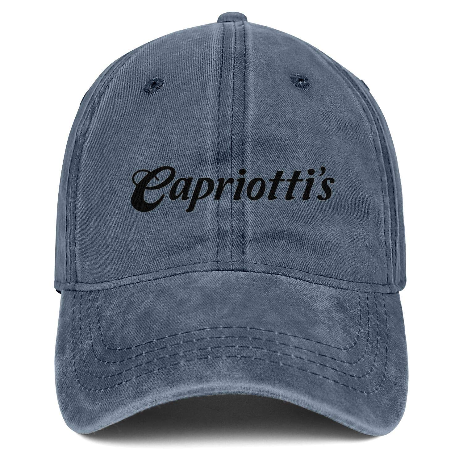chenhou Unisex Capriottis Logo Hat Adjustable Fitted Dad Baseball Cap Trucker Hat Cowboy Hat