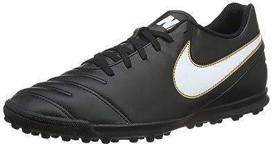 891467f4c120e Nike Men s Tiempo Rio Iii Tf Football Boots Black  Amazon.co.uk ...