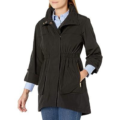 Donna Morgan Women's Long Sleeve Anorak at Women's Coats Shop