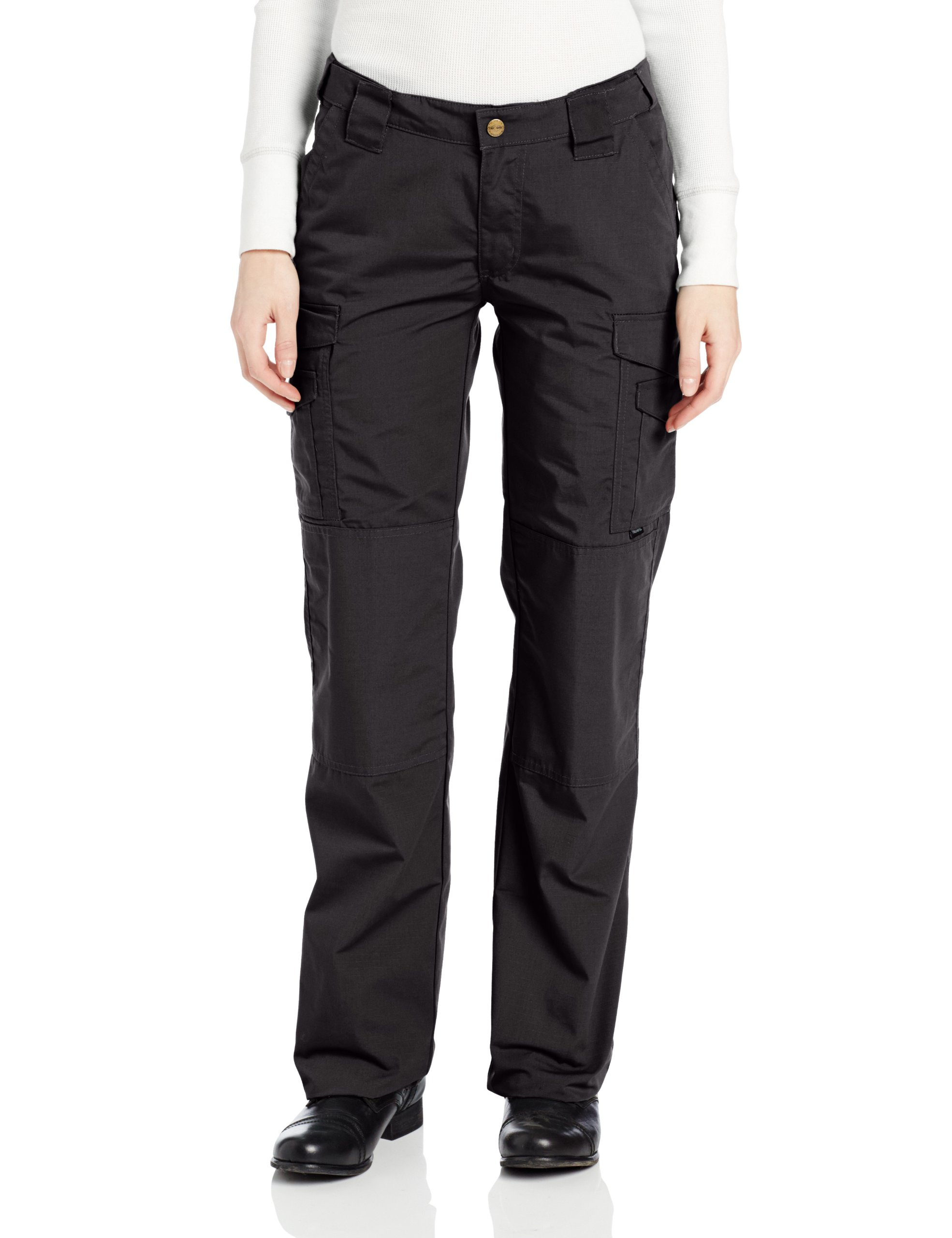 TRU-SPEC Women's Lightweight 24-7 Pant, Black, 8