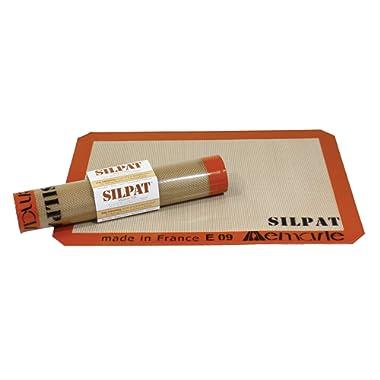 Silpat Premium Non-Stick Silicone Baking Mat, Medium, 9-7/16  x 14-3/8