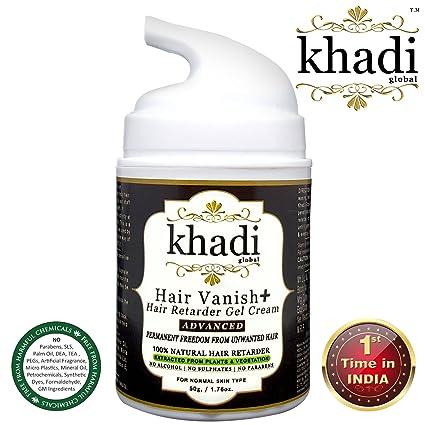 Khadi Global Hair Vanish+ Crema de gel para el cabello para zonas del cuerpo como la