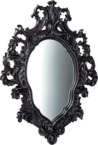 Design Toscano KY249 Madame Antoinette Ebony Salon Mirror,Black