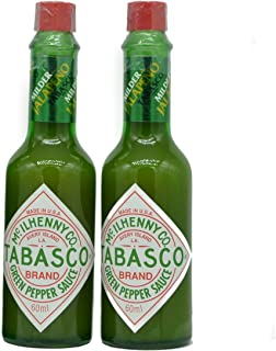 product image for Mild Green Pepper Tabasco 57ml - Pack of 2