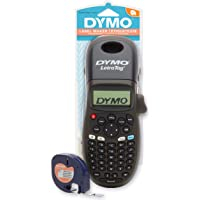 DYMO LetraTag LT-100H Handheld Label Maker | ABC Keyboard Label Printer for Office or Home | Black