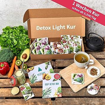 Detox Kur Light Version 1 Woche 100 Vegetarischer