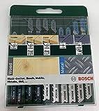 Bosch Dekupaj Testere Seti, Yeşil, 10 Adet