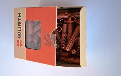 Würth tacos de nailon (8 x 40 mm (100 unidades/Pack)