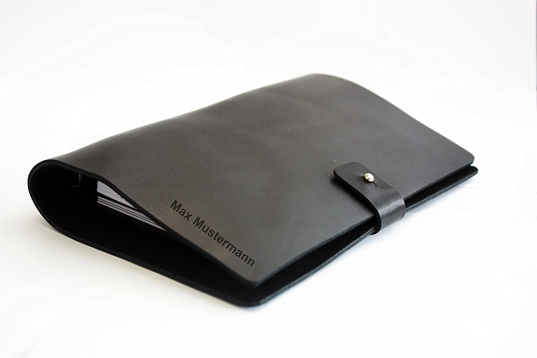 Personalisierter Terminplaner aus Leder