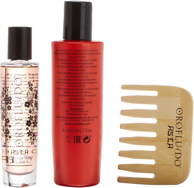 Revlon Asian Beauty Serum + Champú + Peine - 1 Pack: Amazon.es: Belleza