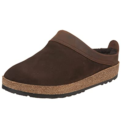 9775a5b63bc Haflinger Women s Snowbird Shearling Leather Clog  Amazon.co.uk ...