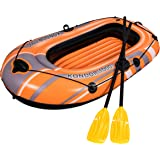 Bestway 61078 bote inflable de piscina - botes inflables de piscina (Raft, Rafting, Negro, Rojo, Color blanco, Amarillo, Vinilo, 1070 x 1650 mm, Full color box)