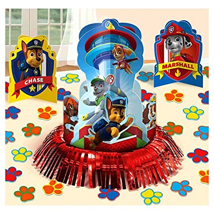 Image Unavailable Not Available For Color 23pc Paw Patrol Table Decoration Kit Boys Birthday