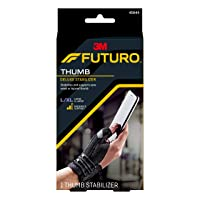Futuro Deluxe Thumb Stabilizer, Improves Stability, Moderate Stabilizing Support...