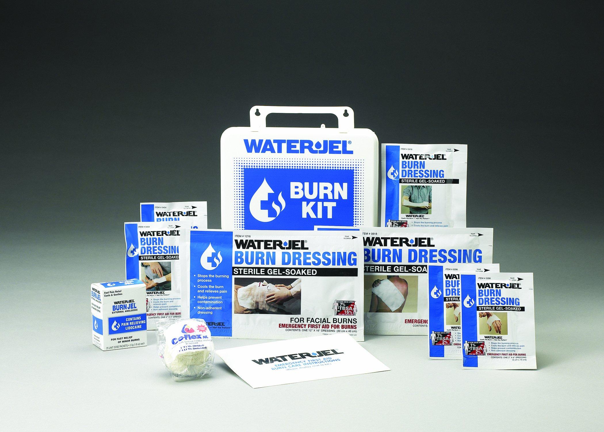 Water-Jel Super First Aid Burn Kit Responder FAK-BURN KIT