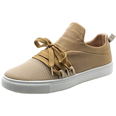 Cambridge Select Women's Round Toe Breathable Lightweight Lace-up Casual Sport Fashion Sneaker | Shoes