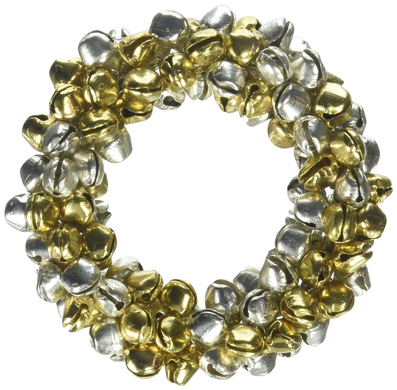 Amazon Com Saro Lifestyle Small Jingle Bell Christmas Napkin Ring