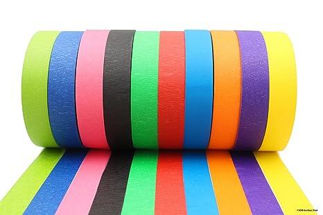 Amazon.com: Colored Tape - Decorative Writable Masking Tape - Large ...