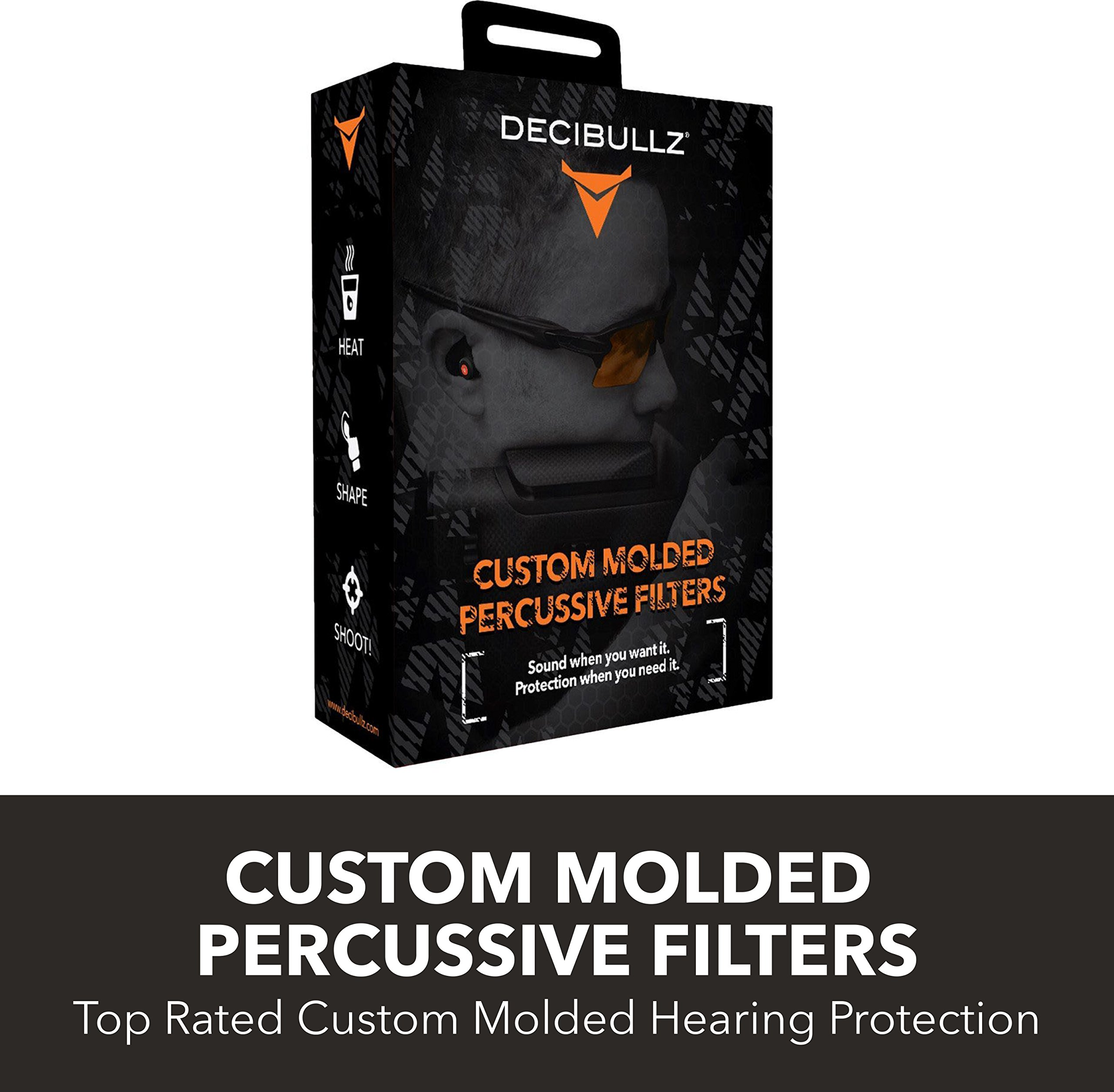 Decibullz - Custom Molded Percussive Filters, Custom Molded Hearing Protection