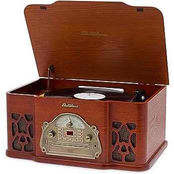 Amazon Com Electrohome Wellington Record Player Retro