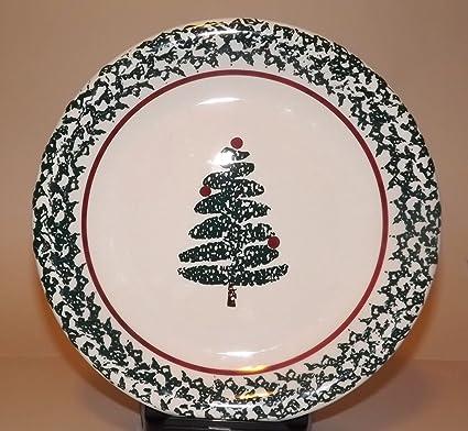 Furio Holiday Christmas Tree Dinner Plate & Amazon.com | Furio Holiday Christmas Tree Dinner Plate: Dinner Plates