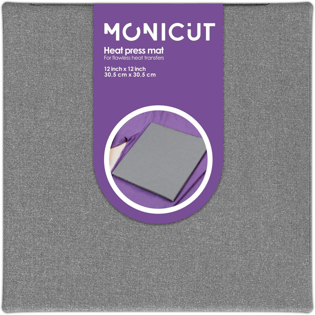13x13, Geometric Pinson Heat Press Mat Protective Heat-Resistant Mat for Cricut EasyPress