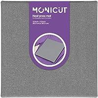 Monicut Heat Press Mat 12x12 for Cricut Easypress 2/Easypress, Heat Pressing Mat for Craft Vinyl Ironing Insulation…