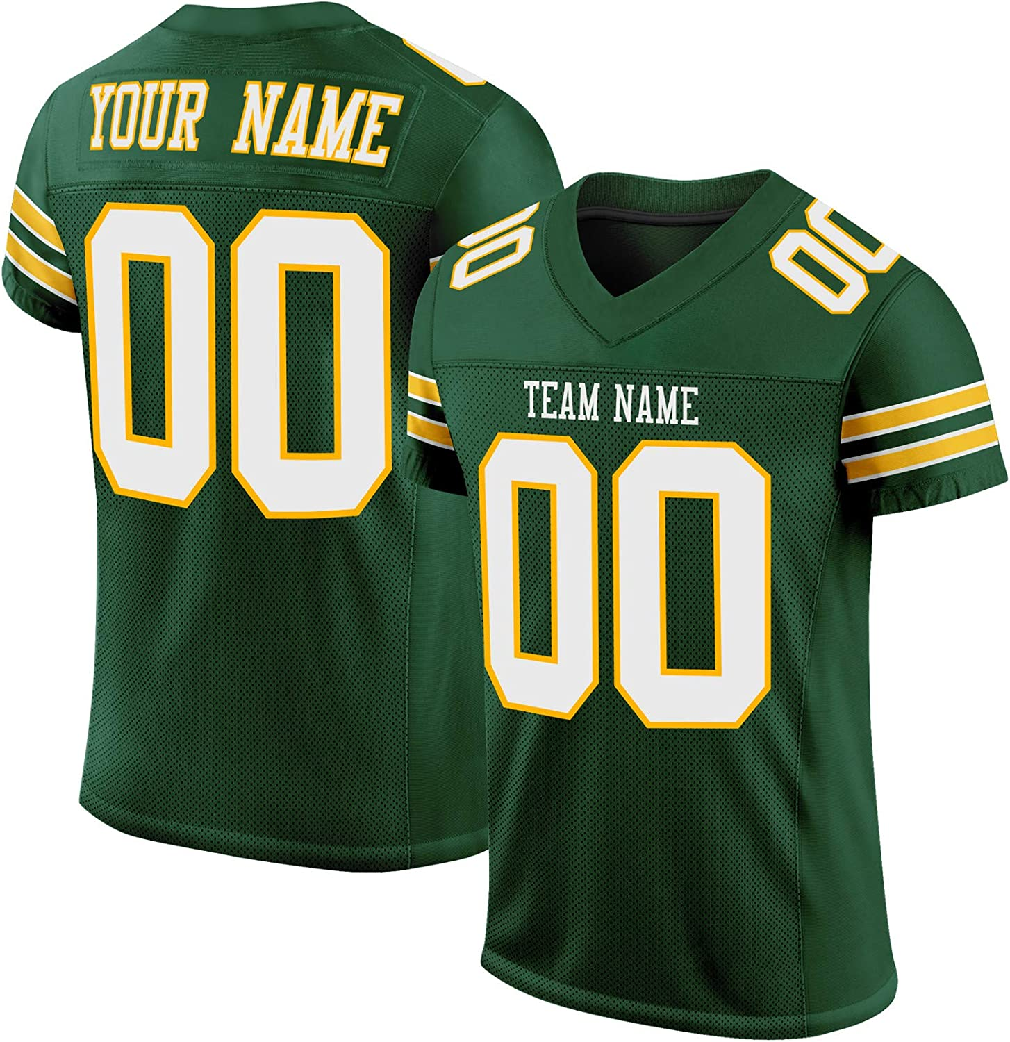 Custom Stitched Football Jerseys for Men/Women/Youth,Personalized Sports Uniform with Team Name and Number