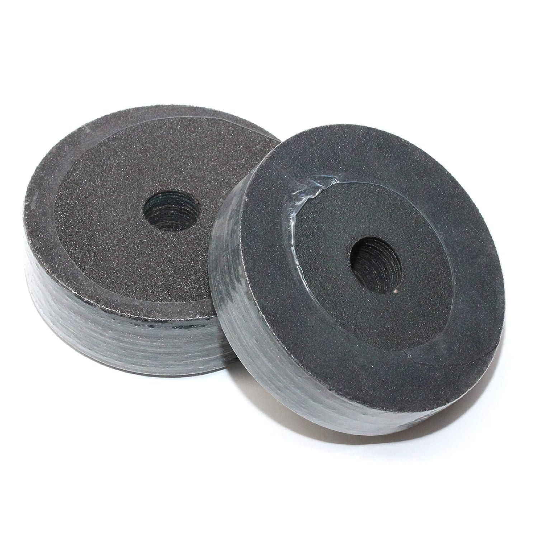 50 x 115mm / 4.5' Angle Grinder Abrasive Fibre Sanding Discs 60G & 120G Presto