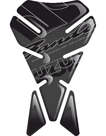RESINATO EFFETTO 3D compatibile con SUZUK.I BANDIT GSF 600 650 1200 1250 ABS V1 TANKSCHUTZ TANKPAD PROTECTION DE RESEVOIR PARASERBATOIO ADESIVO