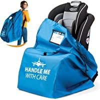 Car Seat Travel Bag for Airplane. Bonus E-Book. Protect from Germs. Safe & Secure. Pouch and Backpack Easy to Carry…