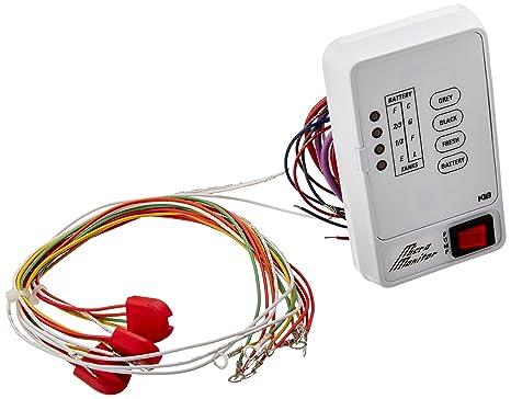 amazon com kib m21vw micro monitor system automotive KiB Tank Monitor Panel Manual at Kib Micro Monitor Wiring Diagram