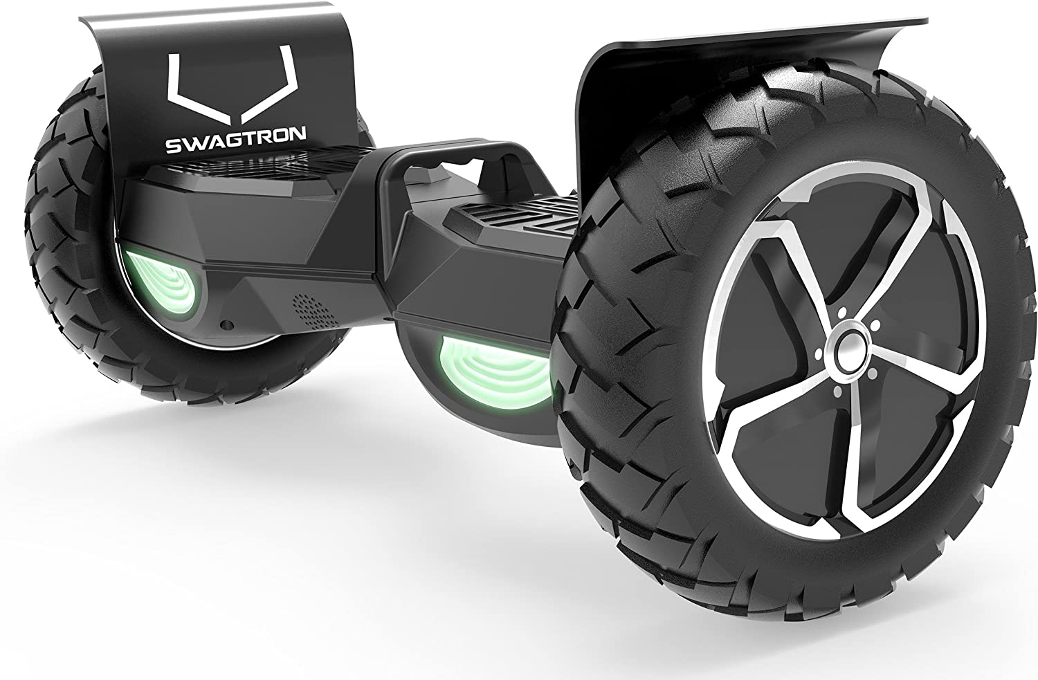 Swagtron Swagboard Outlaw T6 Off-Road Hoverboard - First in The World to Handle Over 380 LBS / US